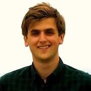 Colour portrait photograph of Jake Charsley, PISTACHIO project research student